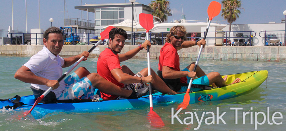 kayak-triple